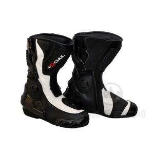 Buty TSCHUL 1017 czarno-białe